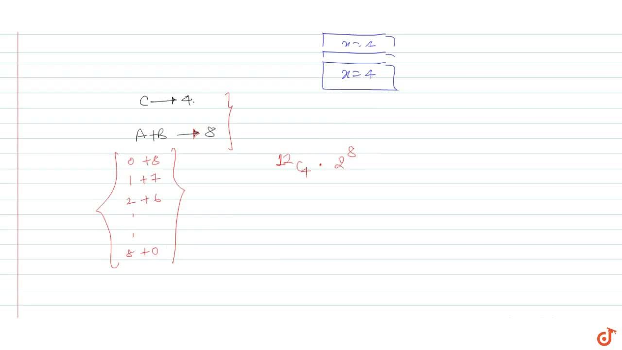 Solution for The number of ways in which we can distribute 12