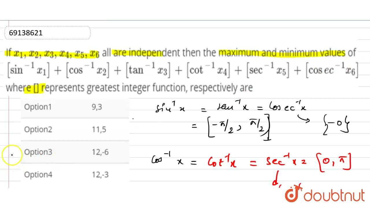 Solution for If x_1,x_2,x_3,x_4,x_5,x_6 all are independent t