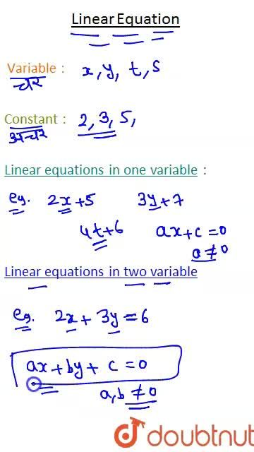 Solution for Introduction to Linear Equations in Two Variables