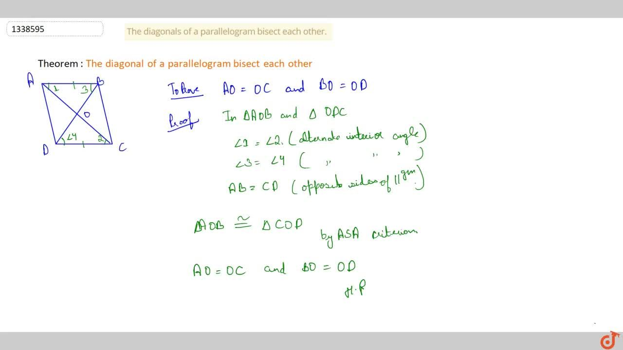 Solution for QUADRILATERALS   PARALLELOGRAM   The opposite angl