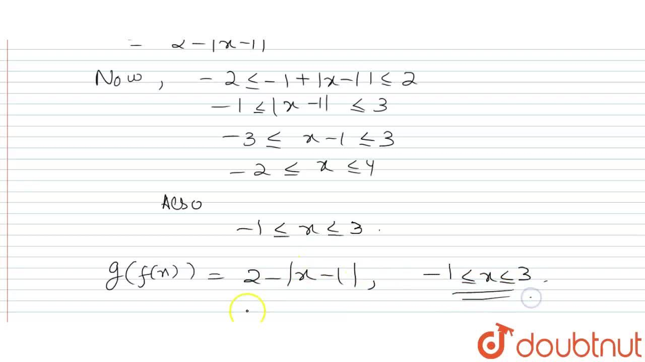 """Solution for If f(x) = -1 +