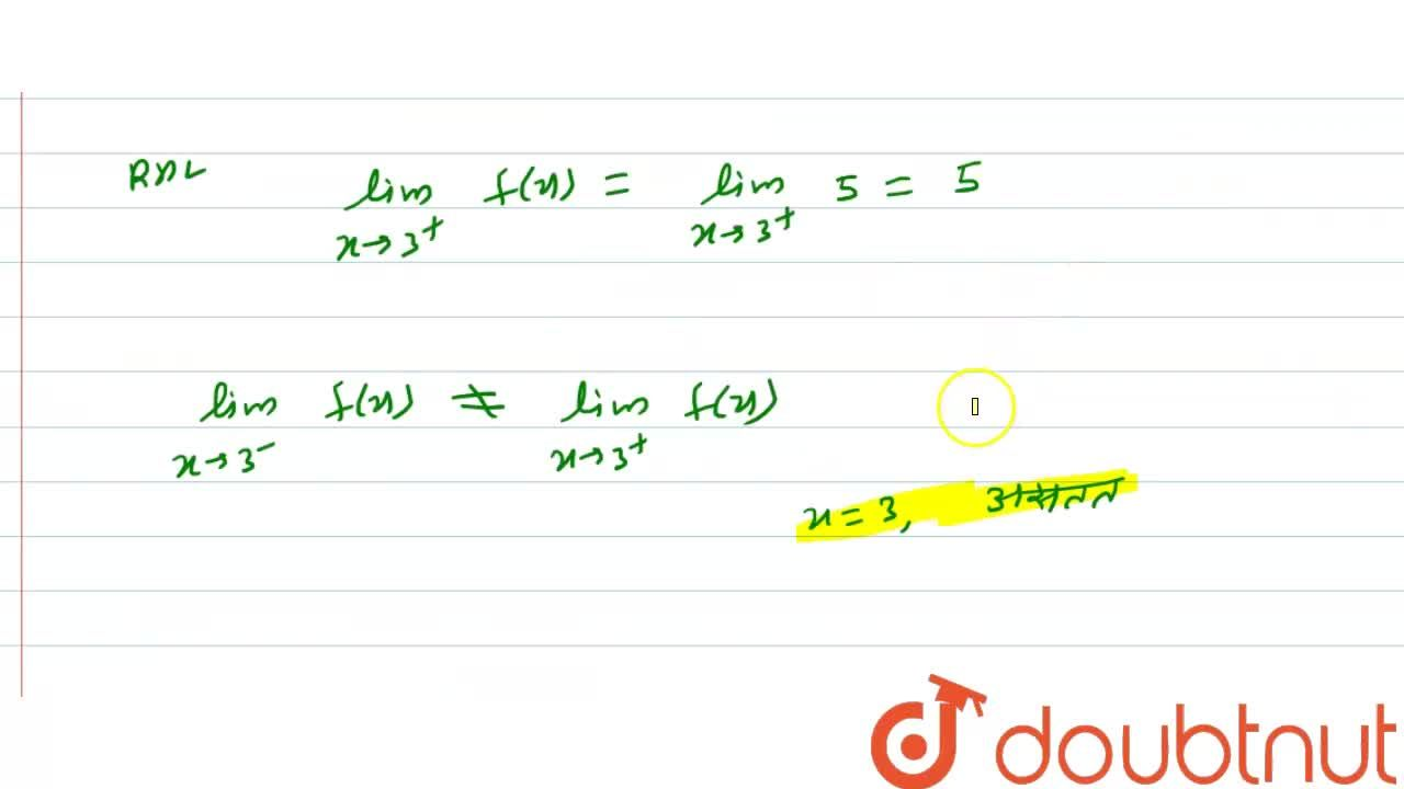 """Solution for   f ( x )  = {{:( 3"""","""", """"यदि"""",  0 le  x  le   1 )"""