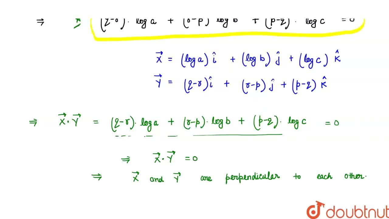 Solution for If the positive numbers a, b and c are the pth, qt