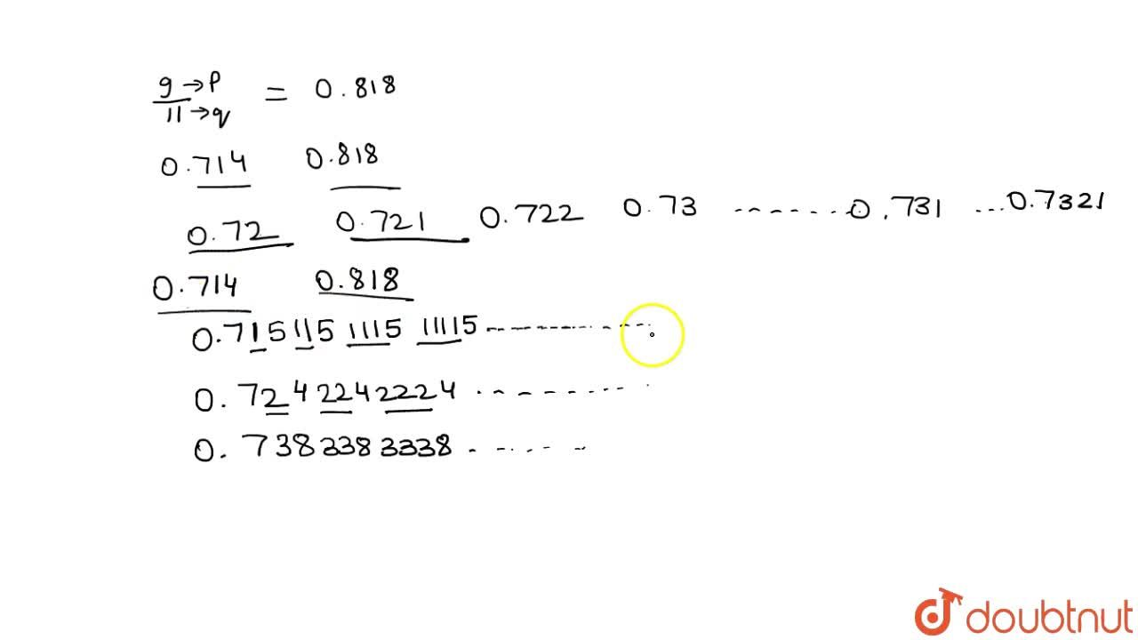Solution for Find  two rational and two irrational numbers betw