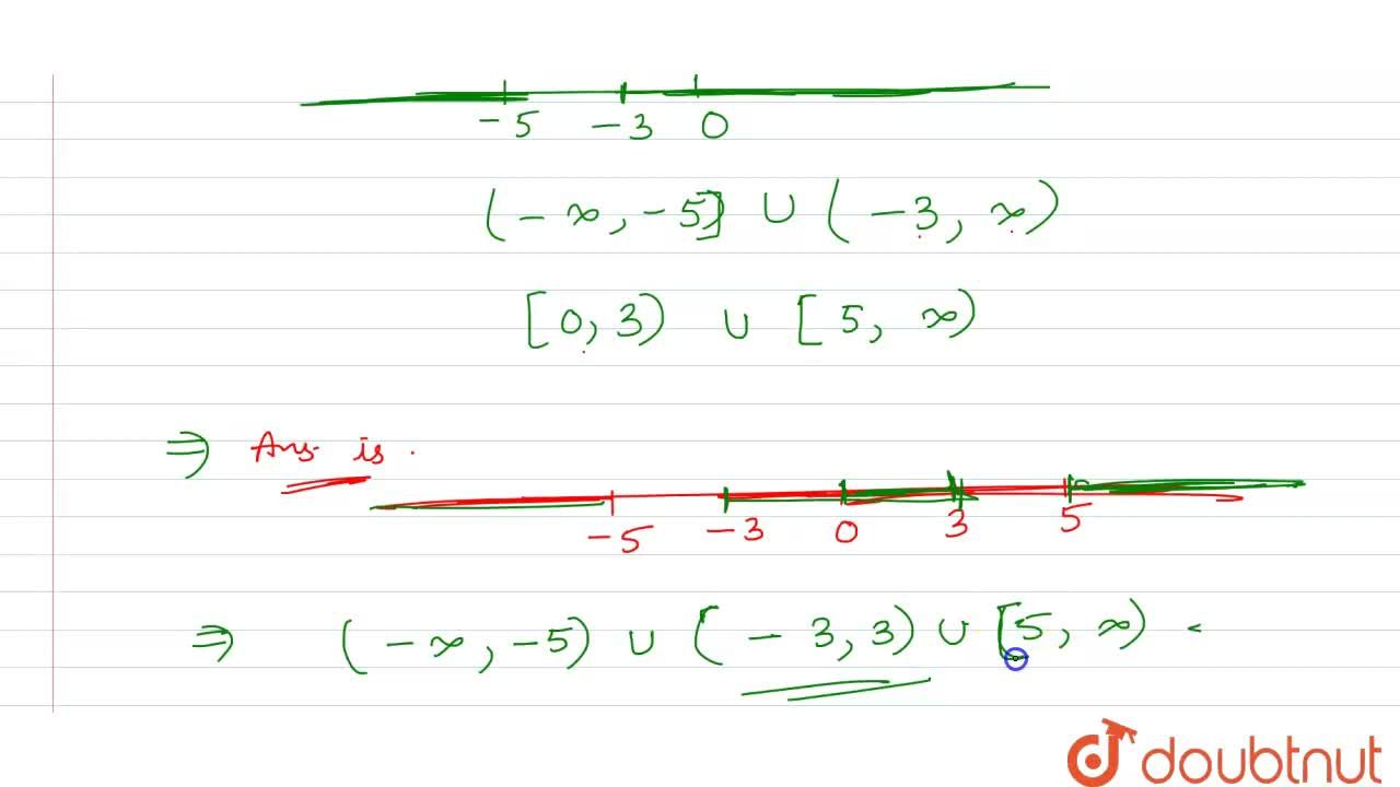 Solve: <br> (1),(|x|-3)le(1),(2),x in R