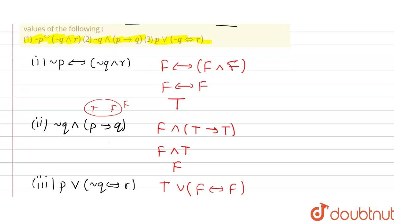 Solution for If the statements p and q are true and the stateme