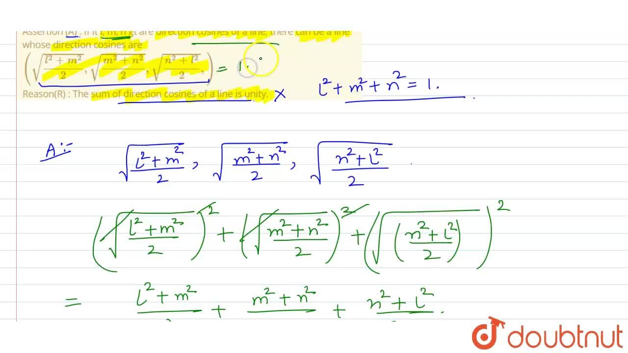 Solution for The following question consist of two statements,