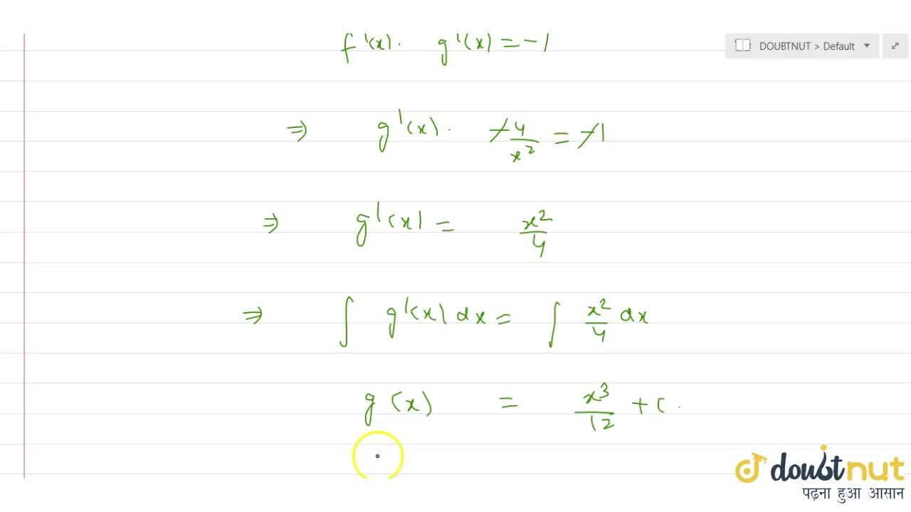 The equation of curves which intersect the hyperbola xy=4 at an angle pi,2 is