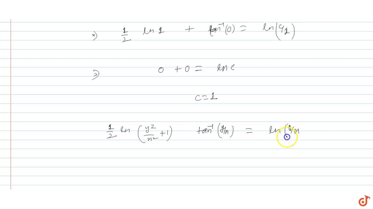 Solution for A tangent and a normal to a curve at any point P m