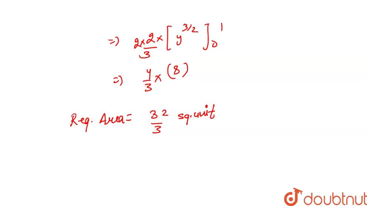 Find the  area of  the region  bounded by  the  curve      y = x ^ 2    and  the line    y  = 4.