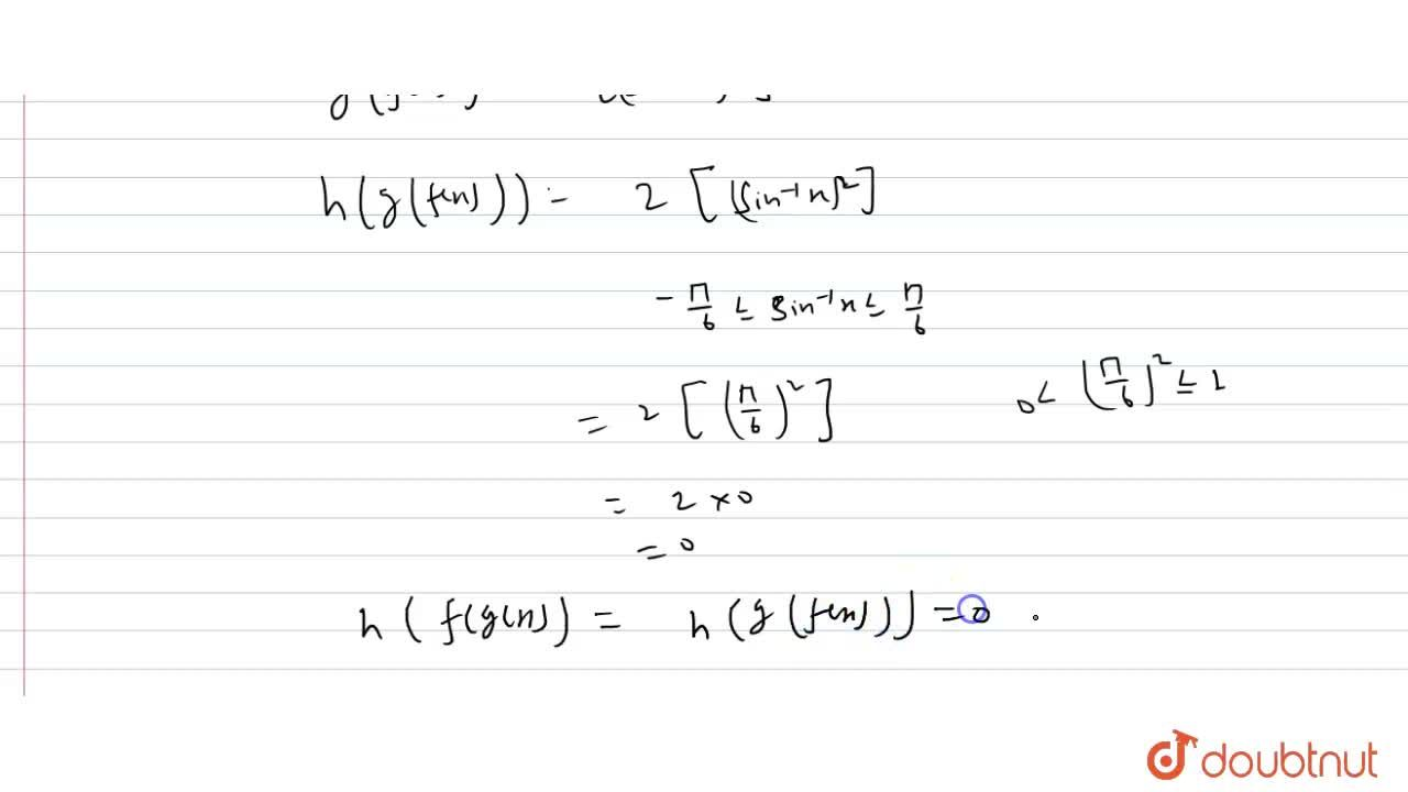 Solution for Let [x] denote the greatest integer less than or e
