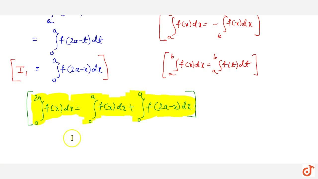 Solution for Property 6: If f(x) is a continuous function defin