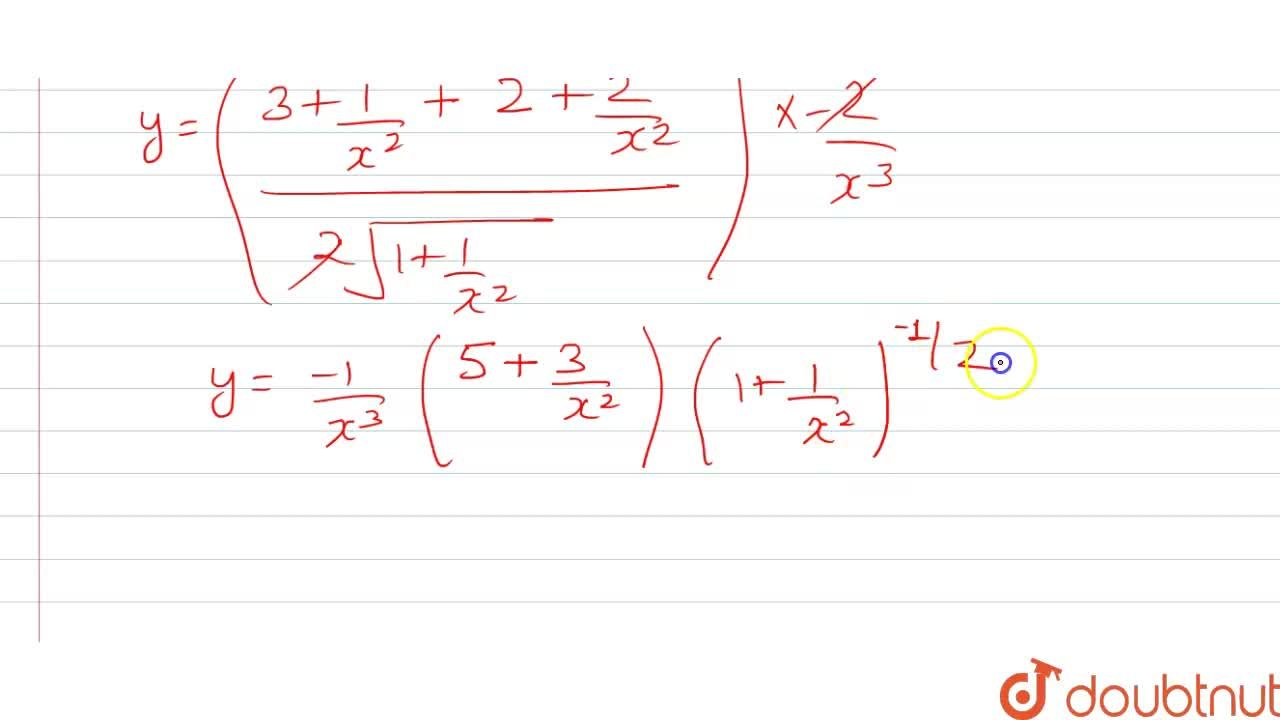 Solution for y=((3x^(2)+1)sqrt(1+x^(2))),(x^(3)) find dy,dx