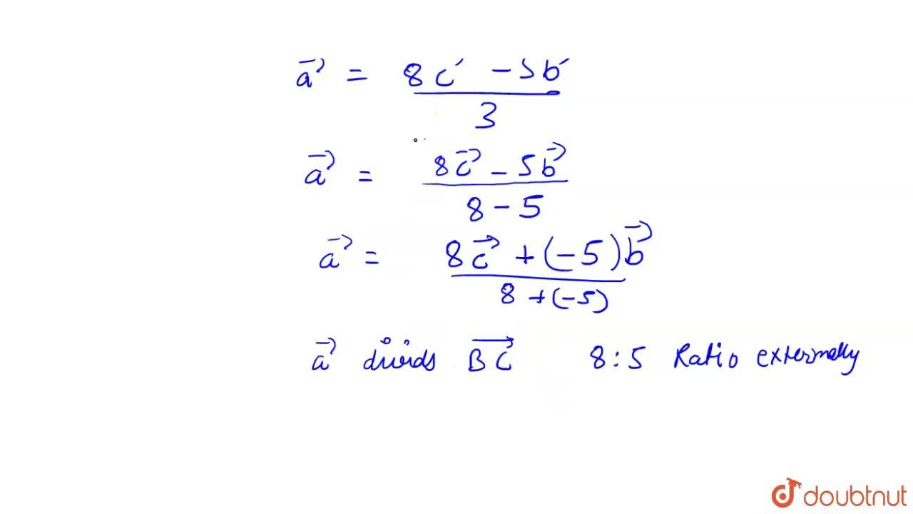 Solution for If bar(a),bar(b)andbar(c) are the position vecto