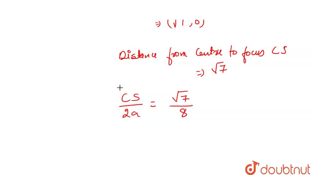 Solution for If C is the centre of the ellipse 9x^(2) + 16y^(2