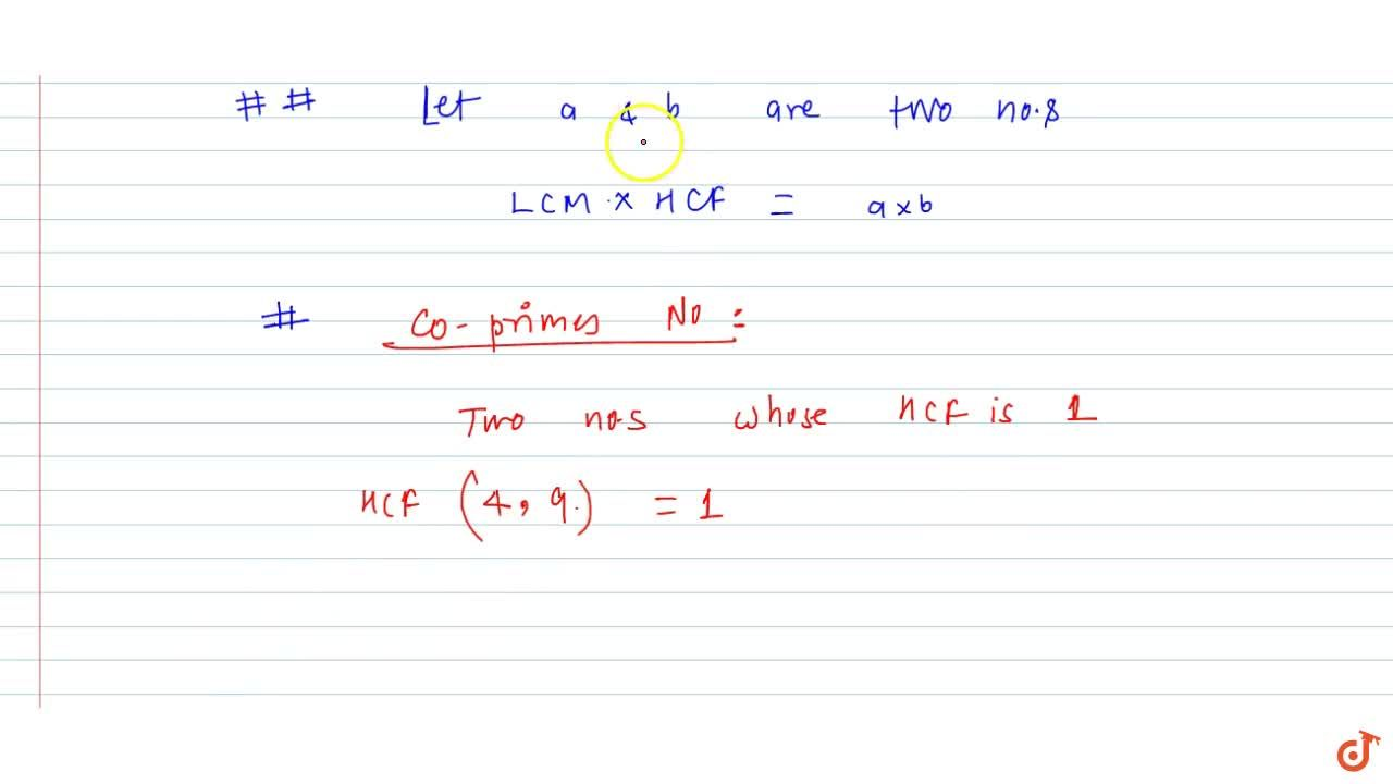 Solution for LCM: definition and methods