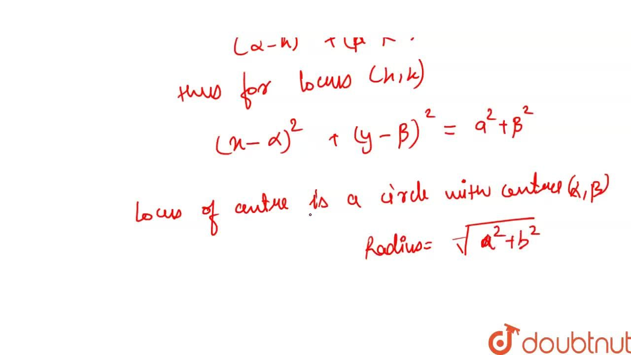 Solution for An  ellipse  slides  between  two  perpendicular l