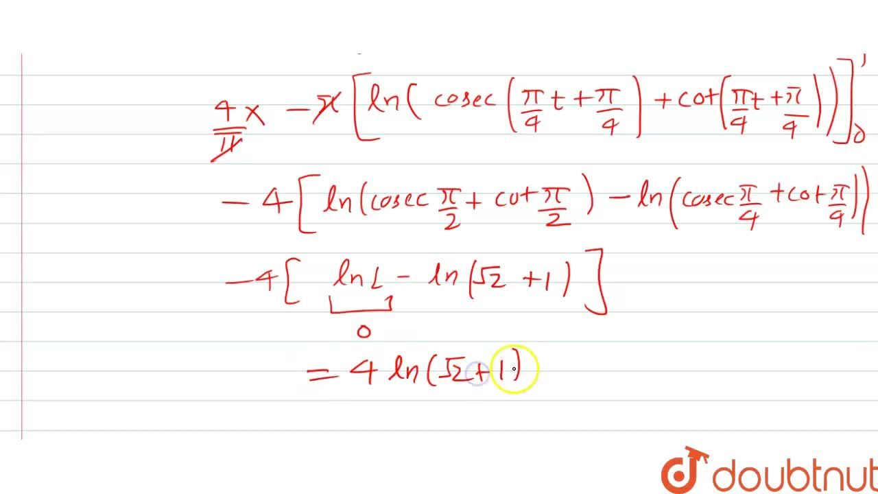 Solution for The value of lim_(n rarroo) sum_(r=1)^(n)(1),(sin