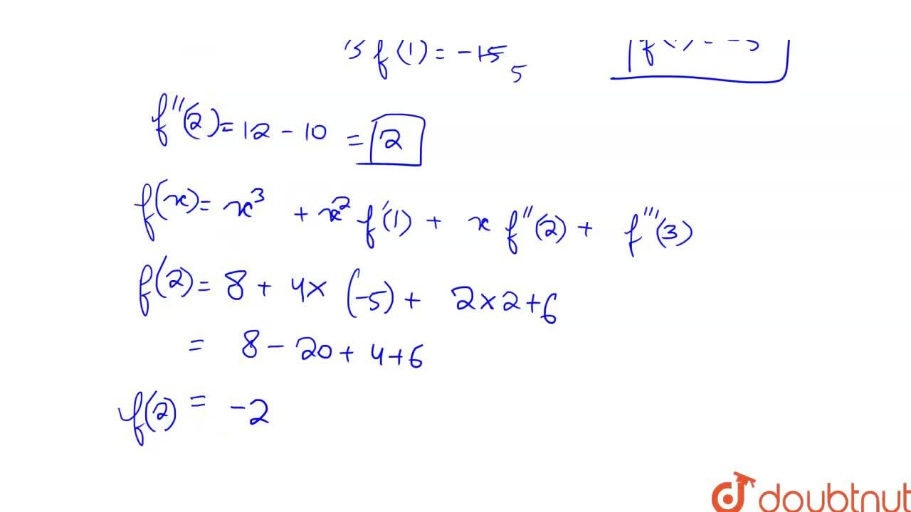 Solution for Let f : RtoR be a function such that f(x)=x^3+x