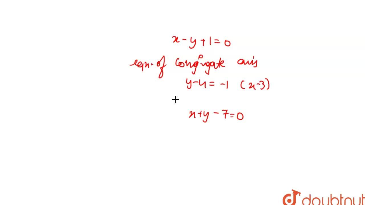 Find the asymptotes and axes of hyperbola having equation xy-3y-4x+7=0.