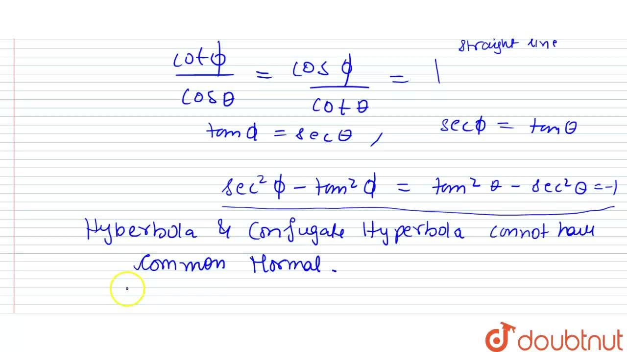 Solution for Prove that any hyperbola and its conjugate hyperbo