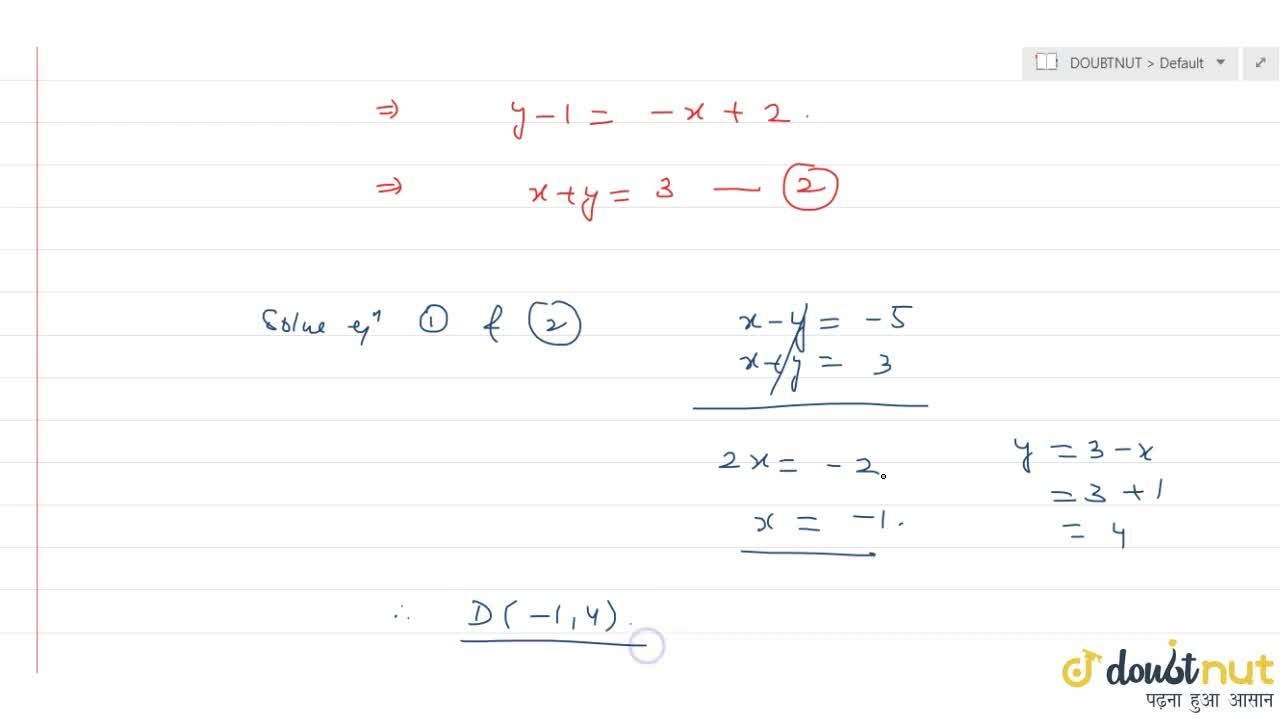 Consider the DeltaABC with vertices A(-2,3), B(2,1) and C(1,2). what is the foot of the altitude from the vertex A of the triangle ABC?