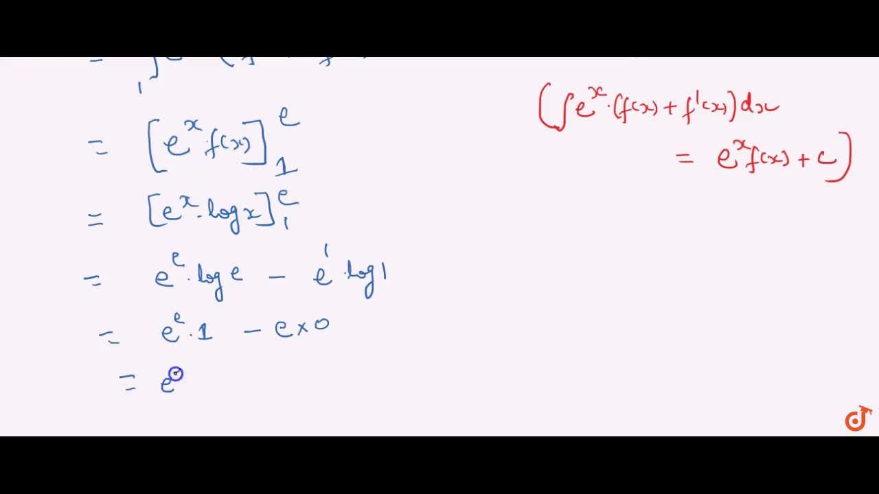 Solution for Evaluate the following definite integral: int_1^e