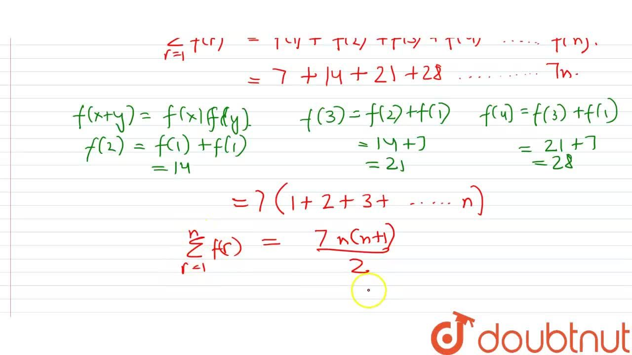 Solution for If f:R to R  satisfies f(x+y)=f(x)+f(y), for all