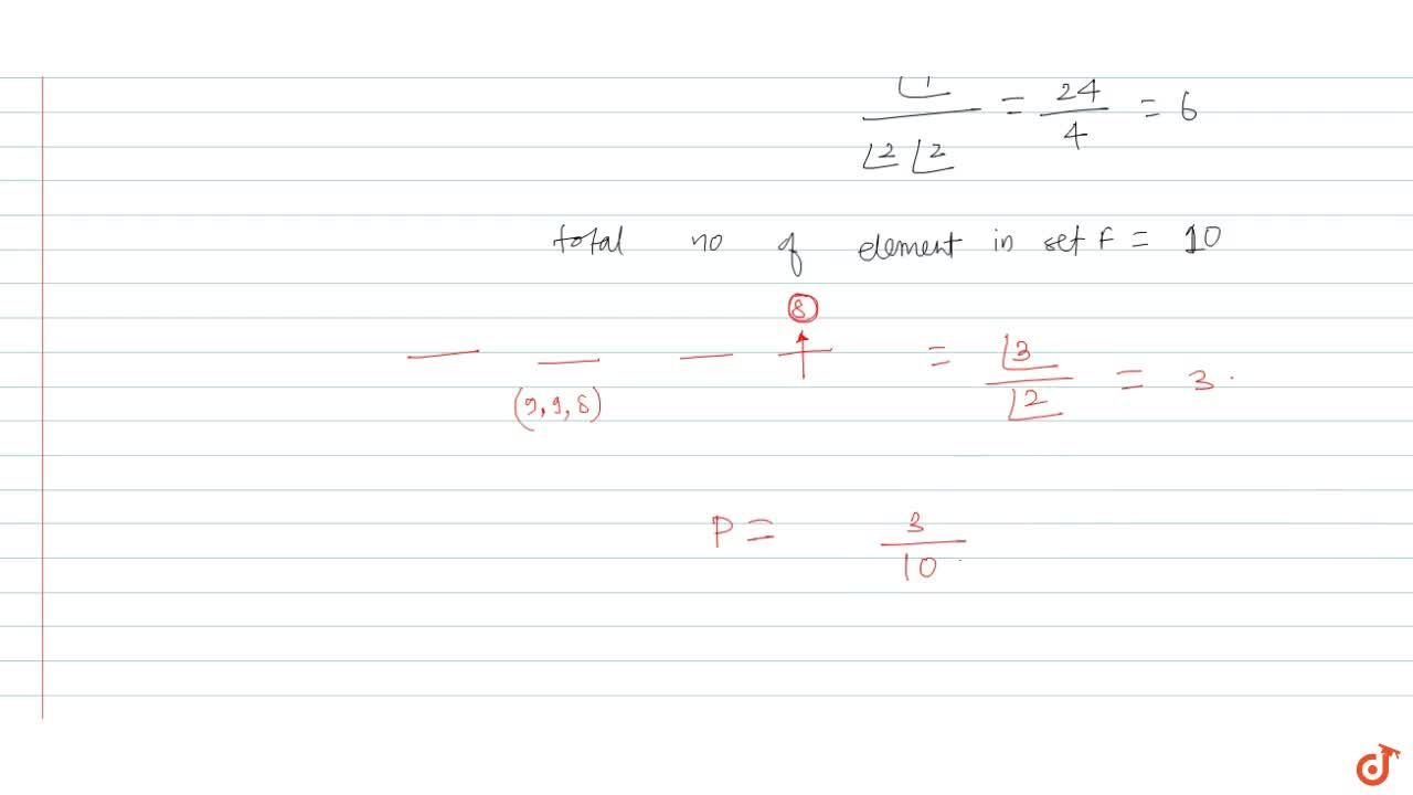 Solution for Let F be the setof all 4 digited numbers whose s