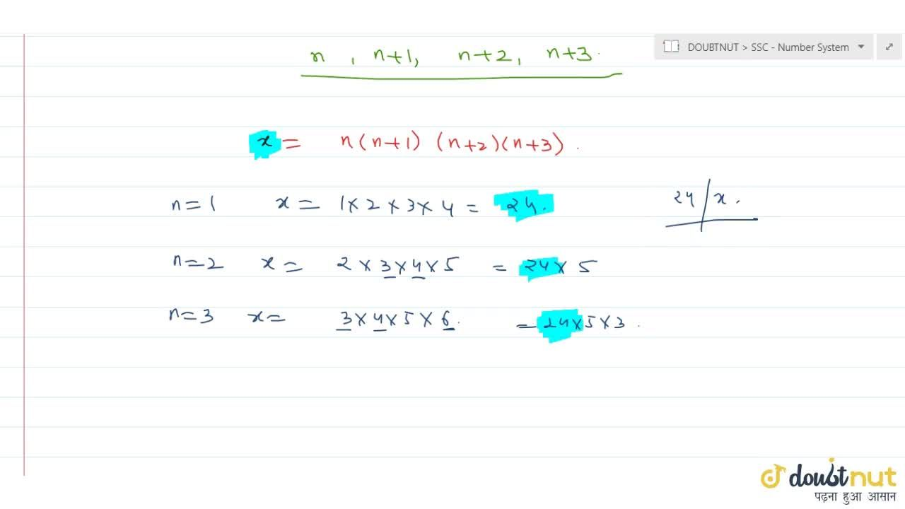 Solution for The largest natural number, which exactly   divid
