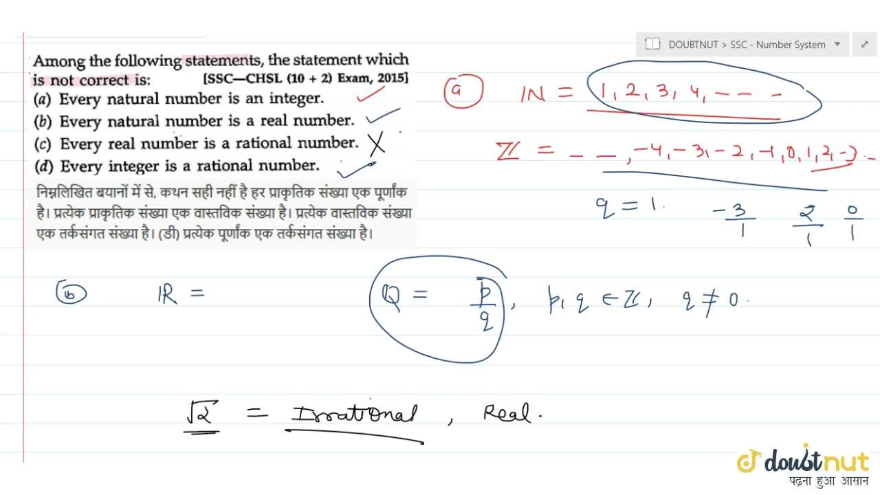 Solution for Among the following statements, the statement   w