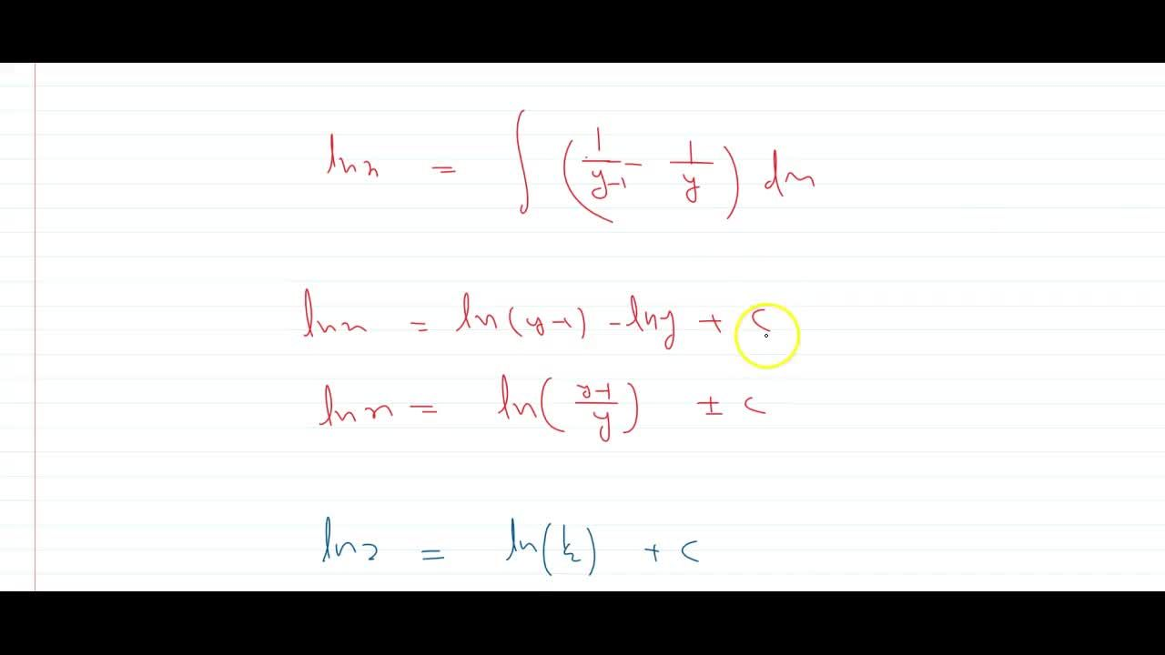Solution for find the equation of the curve which passes throug