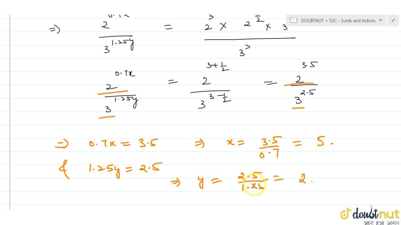 Solution for What are the values of x\ and\ y that satisfy th