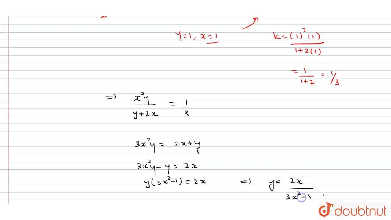 Solution for Solve the differential equation x^2dy+(x y+y^2)dx