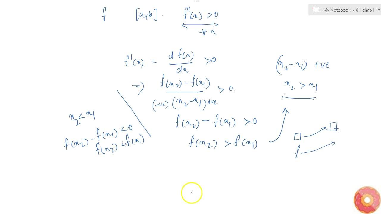 Solution for Let f be a function defined on [a, b] such that f