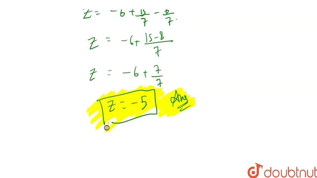 Solution for Using matrices, solve the following system of equa