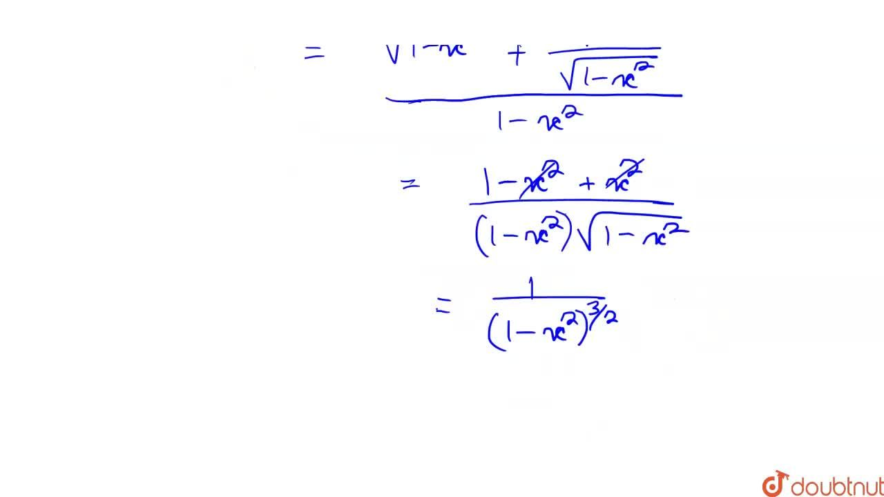 Solution for Differentiate the following w.r.t. x: <br> (i) se