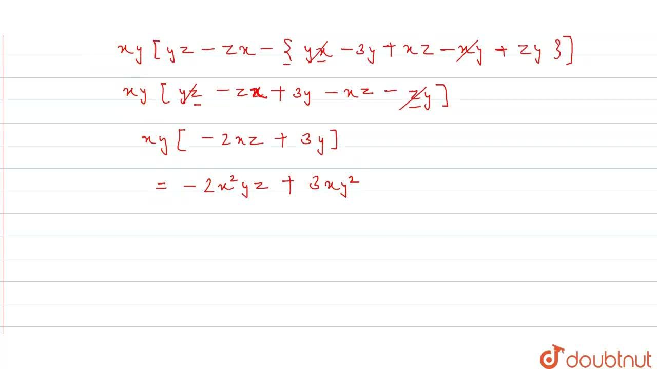 Simplify each of the
