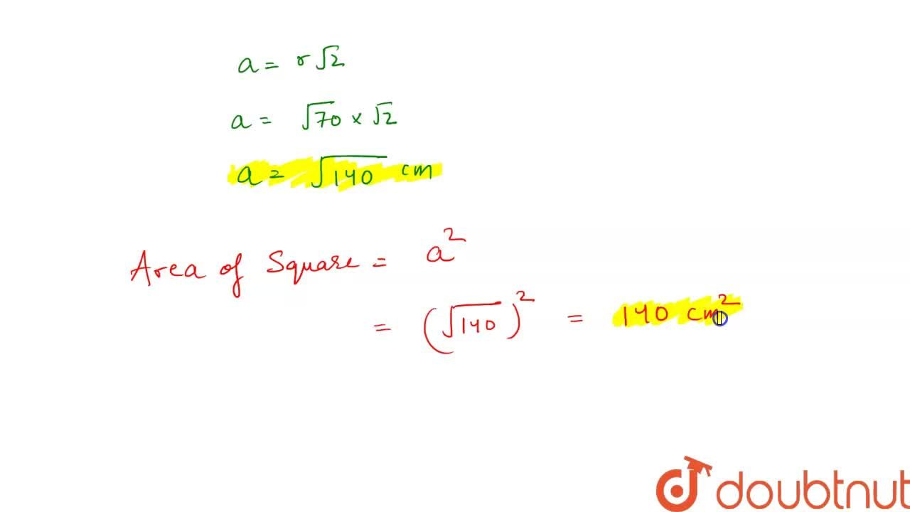 Solution for The area of a circle is 220\ c m^2 . The area of