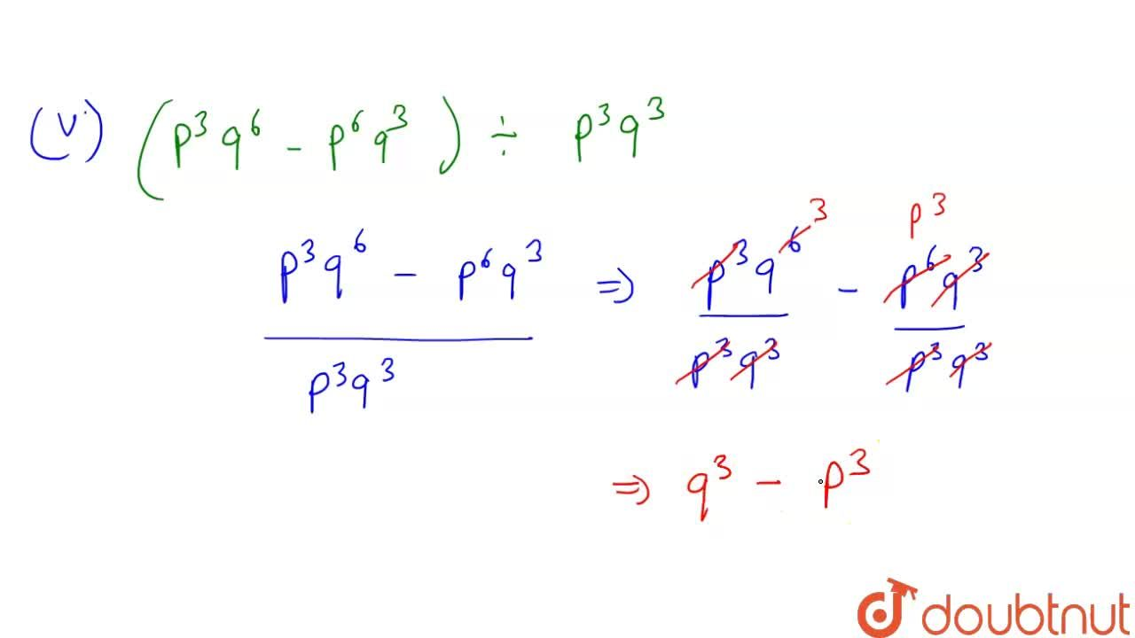 Solution for  Divide the given polynomia the given monomial