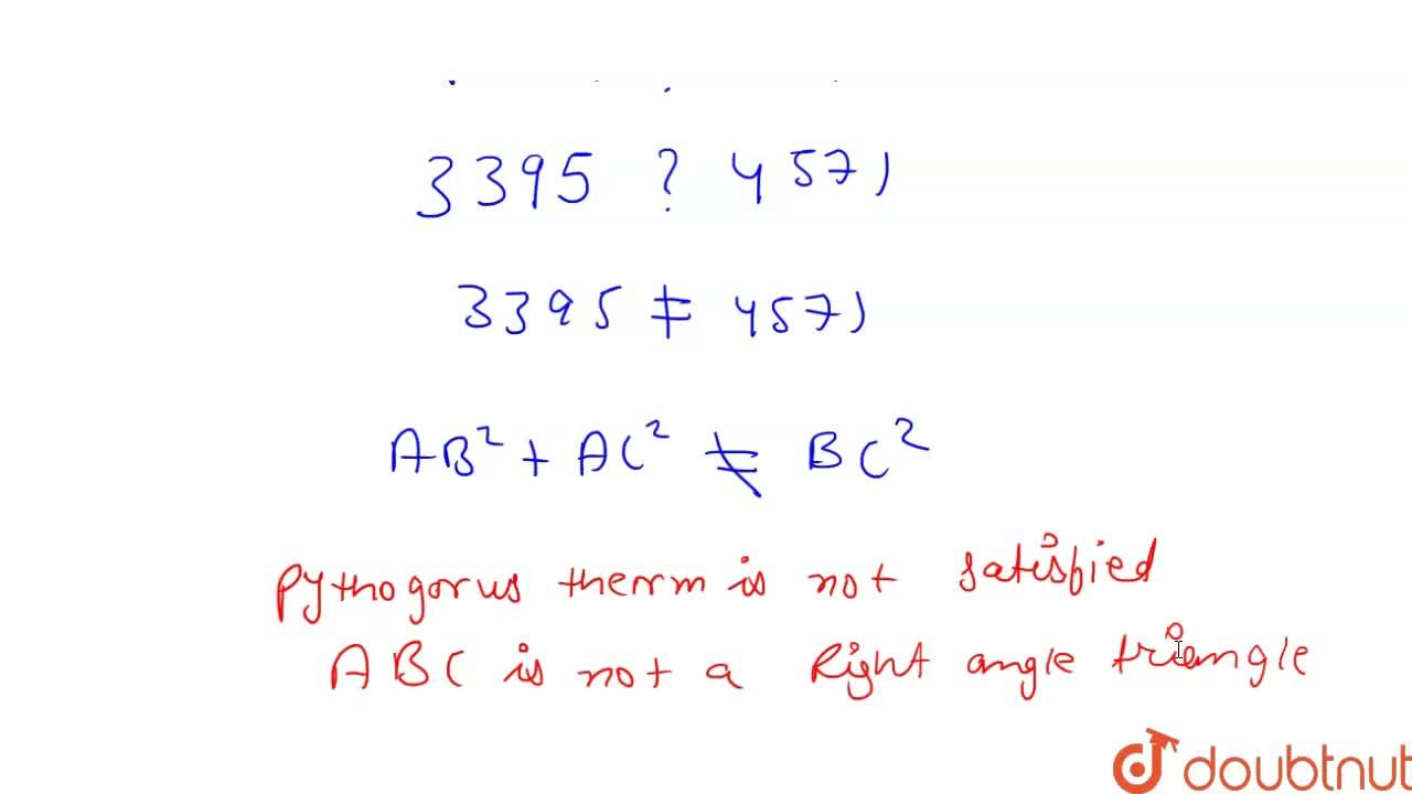 Solution for Are the points A(3,6,9),\ B(10 , 20 , 30)a n d\ C