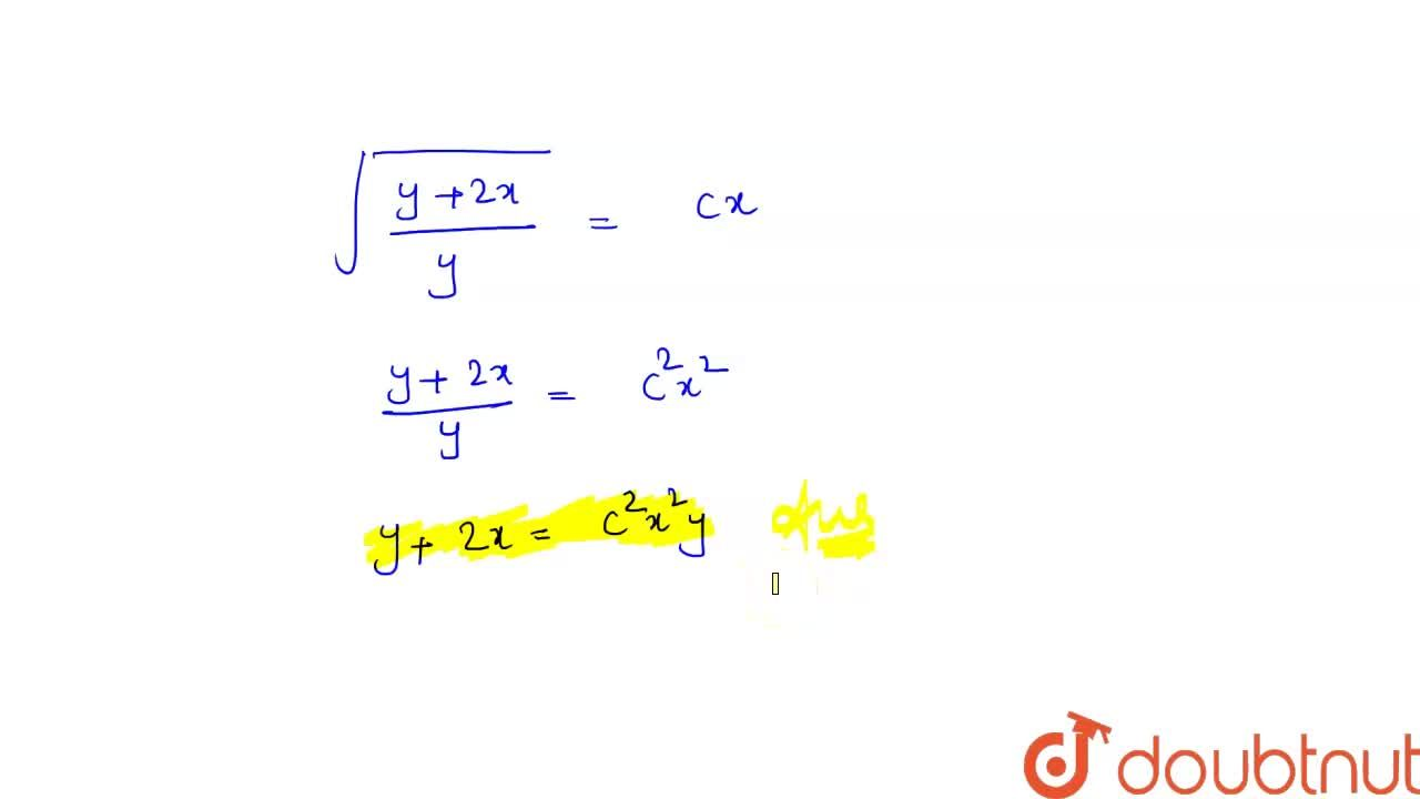 Solve the  differential equations   x^(2)dy+(xy+y^(2))dx=0