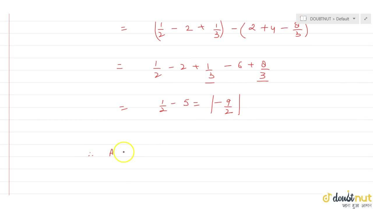 The area of the region bounded by the parabola x= -y^2 and the line y = x+2 is