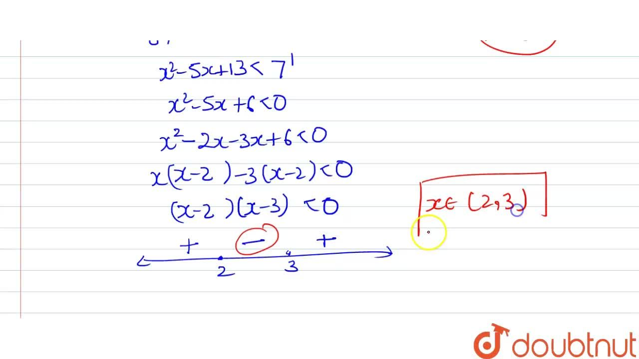 Find the domain of definition the following function: f(x)=log_(10)(1-log_7(x^2-5x+13))+cos^(-1)(3,(2+sin\ (9pi),2))