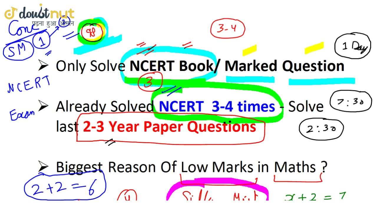 Solution for How To Score 95+ Marks in Class 10 Boards Maths Ex