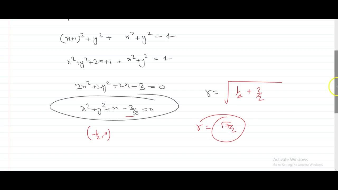 Solution for if |z + 1|^2 + |z|^2 = 4, then the locus of z