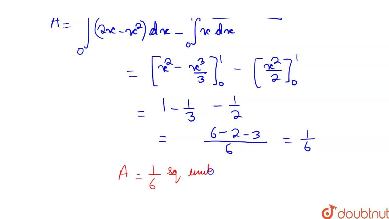 Solution for The area of the region bounded by the curve y = 2