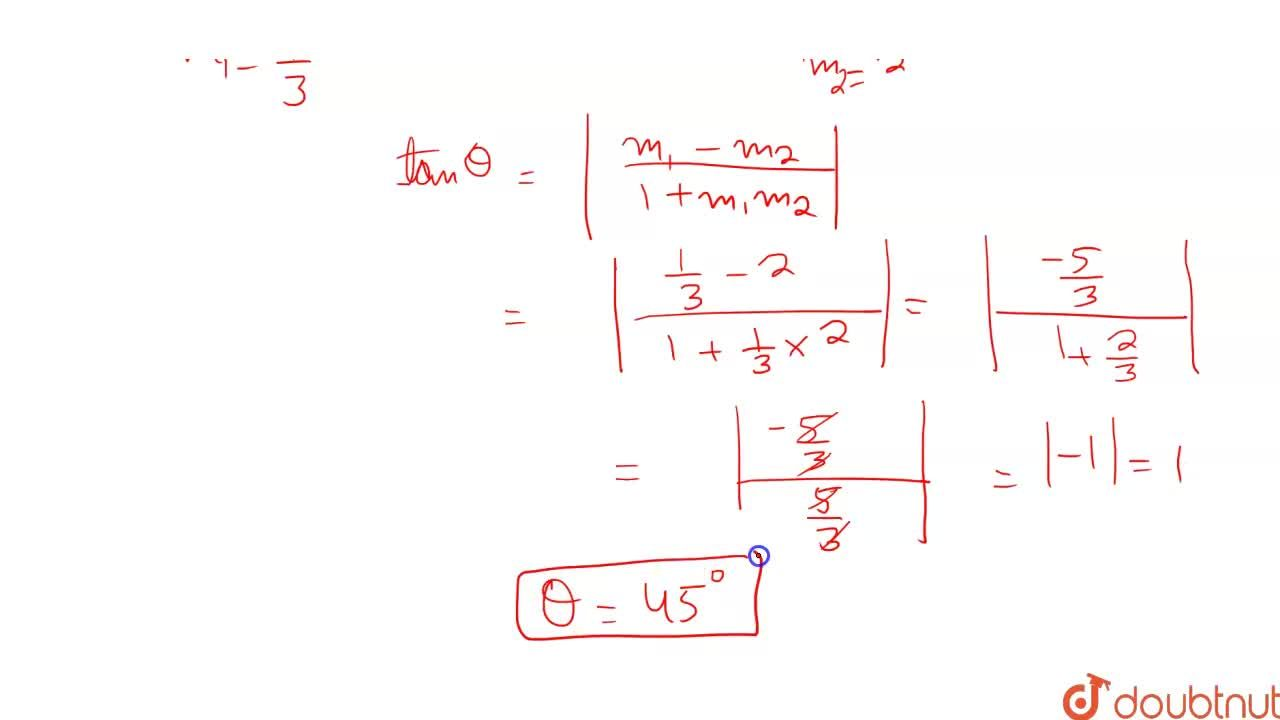 Solution for Angle between the pair of lines 2x^2-7x y+3y^2+3x