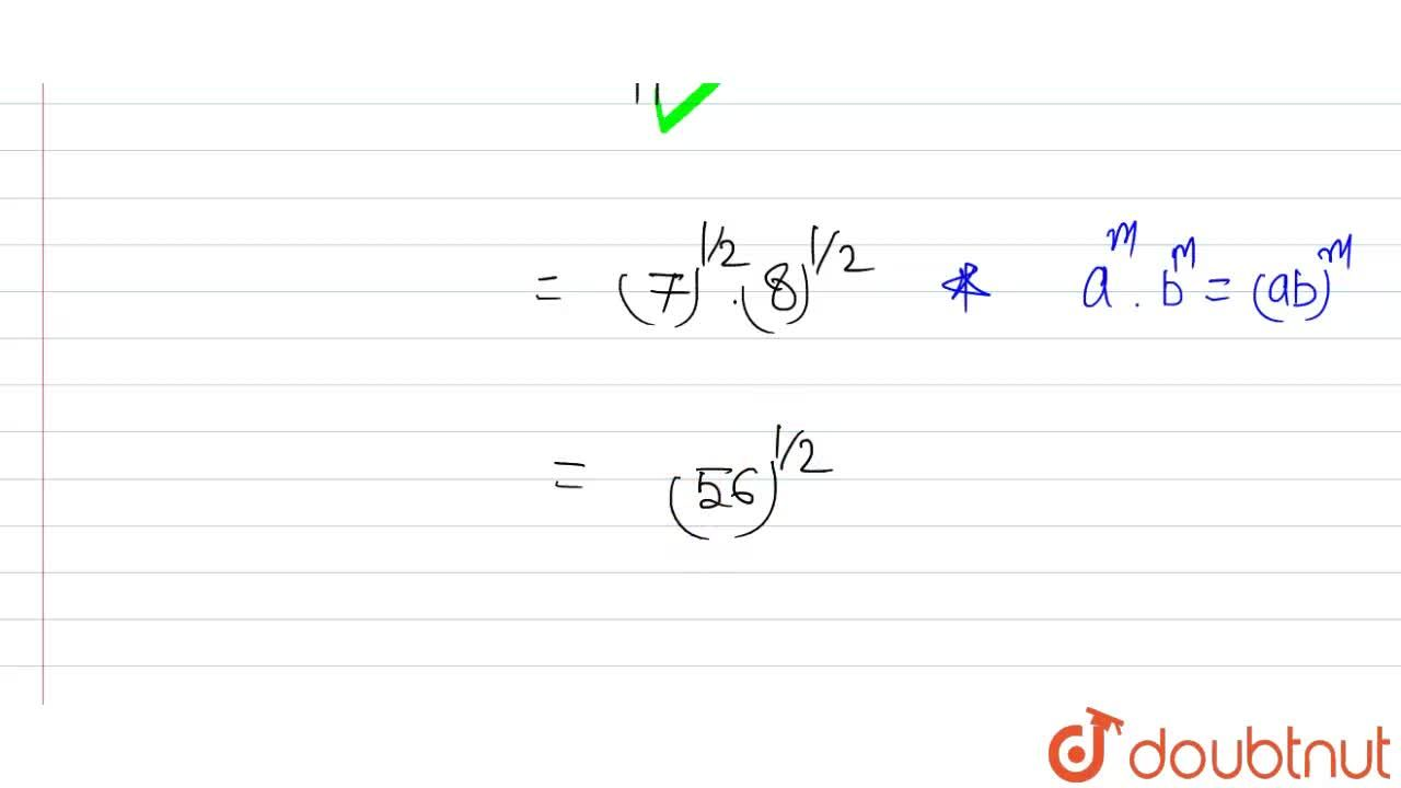 Solution for सरल कीजिए : <br> (i) 2^(2,3).2^(1,5) , (ii) (1,
