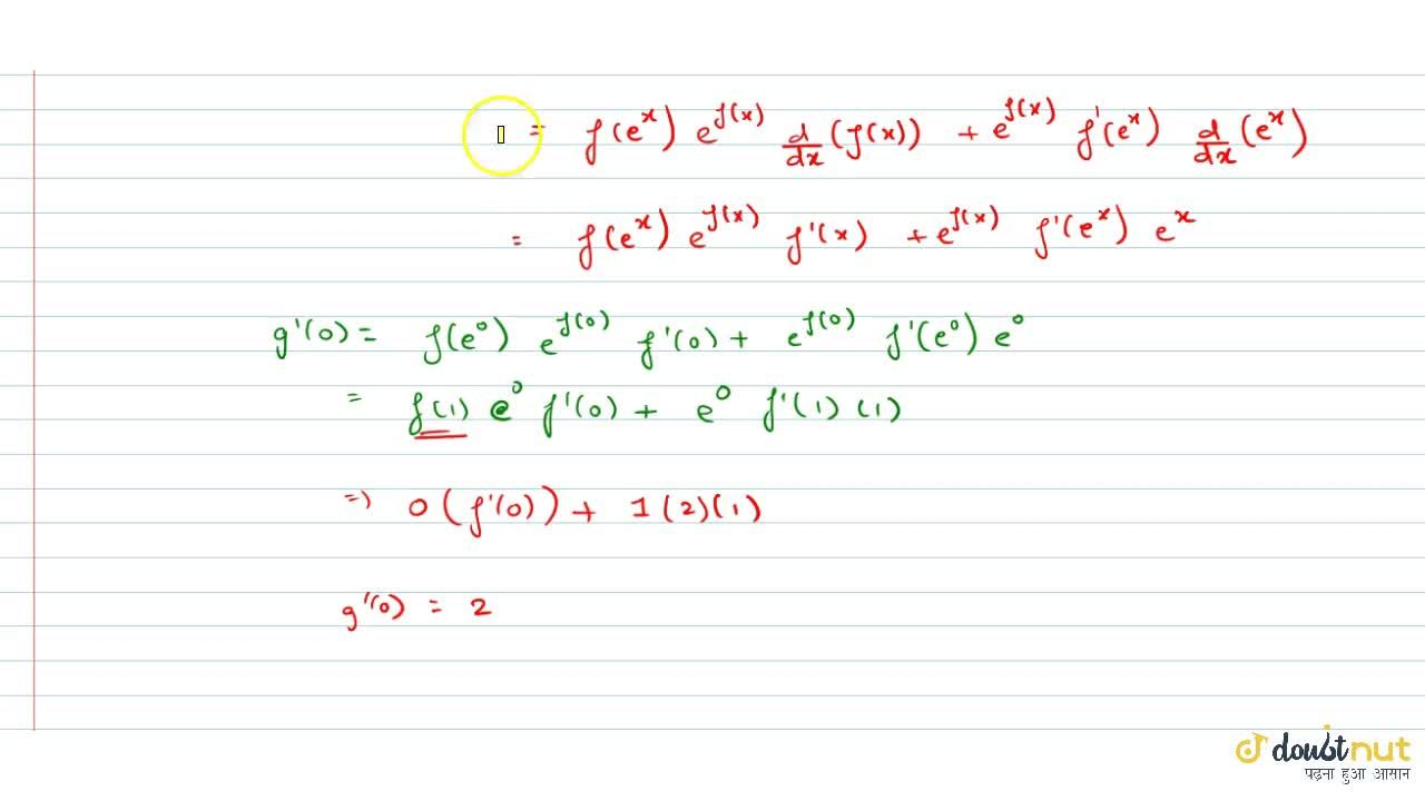Solution for If for a continuous function f, f(0)=f(1)=0, f'(1